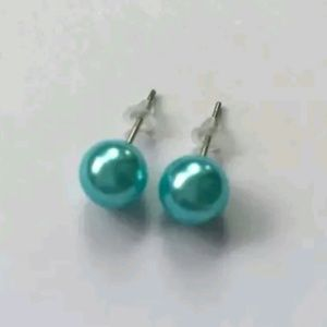 *COMING SOON* Turqoise Pearl Stud Earrings